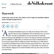 Volkskrant Mienis & Co Pruiken - Haarwerken