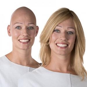 Haaruitval door Alopecia, natuurlijk haarwerk, Haarwerk monster, Haarwerk Delft, Pruik Delft, Pruik Monster
