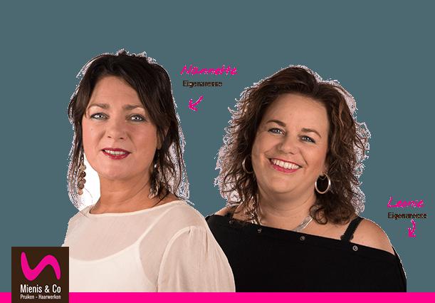 Leonie en Nanette van Mienis & Co Pruiken - Haarwerken