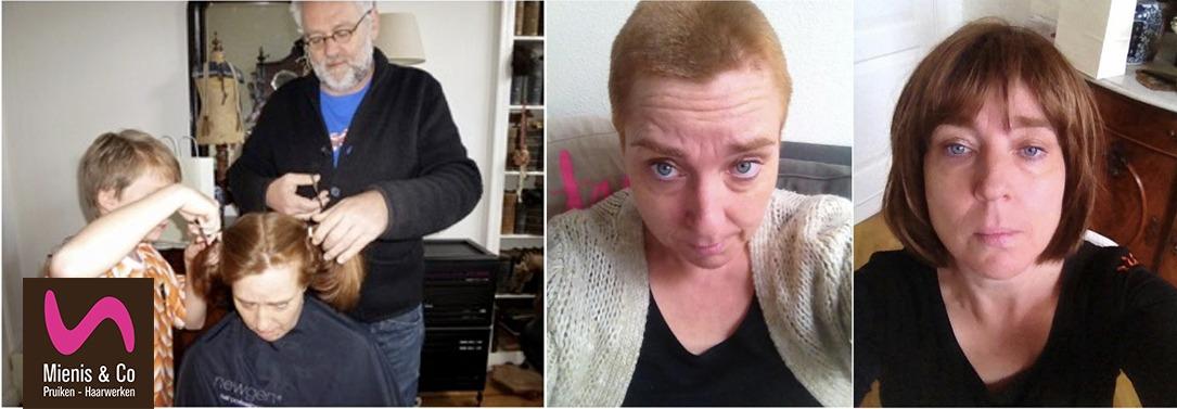 Chantal Deen, Lotgenoot haarwerk, pruik, chemo verhaal