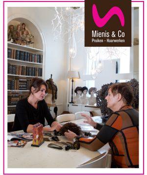 Mienis & Co Pruiken - Haarwerken intakegesprek, delft, monster, haarwerk, pruik, pruiken, chemo