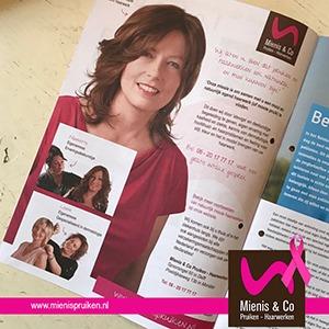 Magazine Reinier de Graaf ziekenhuis magazine, haarwerk, pruiken, haarstukjes, natuurlijk, Mienis & Co Pruiken - Haarwerken