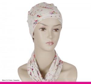 Collectie sjaals en mutsjes, chemo, Alopecia, Mienis & Co Pruiken - Haarwerken, Monster, Delft