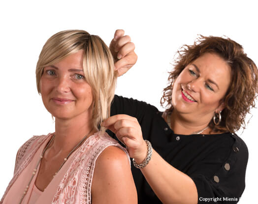 haarwerk, haarwerken, pruiken, pruik, Delft, Monster, Chemo haar, Haarverlies