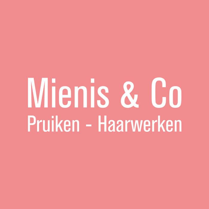 Logo van Mienis & Co Pruiken - Haarwerken